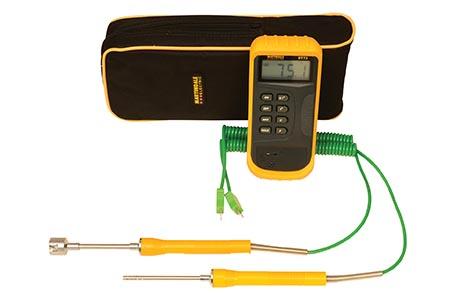 Legionella testing kit simplifies water temperature testing