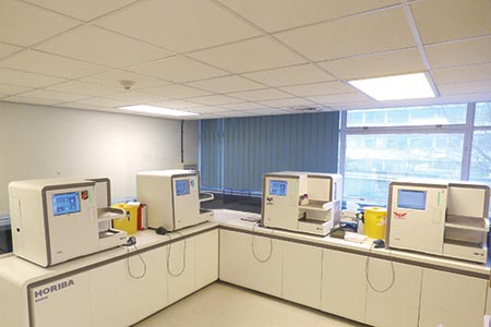 Multi-site haematology: consolidation and efficiency  savings in Cardiff