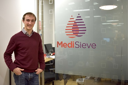 MediSieve founder honoured as MIT Technology Review's Innovator Under 35
